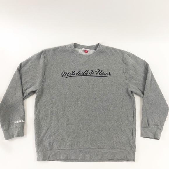 426082e49 Mitchell & Ness Men's 3XL Gray & Black Sweatshirt.  M_5b5229731299551c3674f432